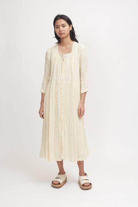 Pas de Calais Linen Dress - Ivory