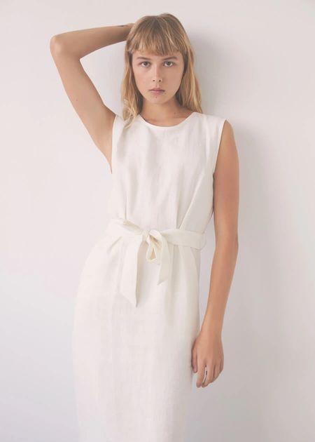 Eve Gravel Paloma dress - ivory