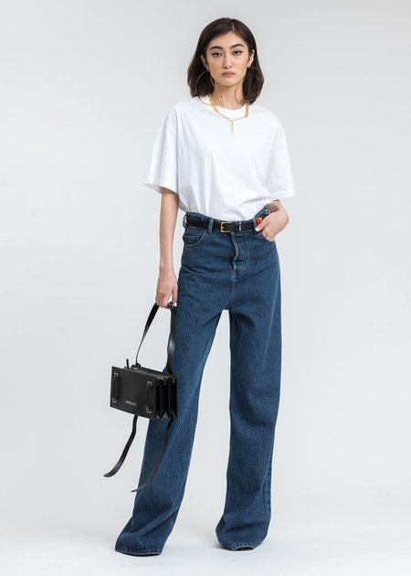 Y/project Classic Peep Show Jeans - Blue