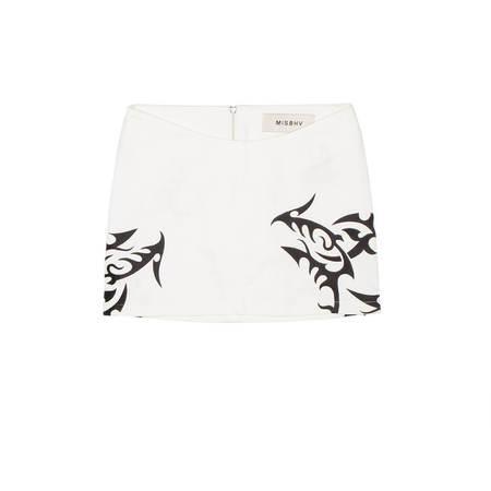 MISBHV Hardcore Trinity Denim Skirt