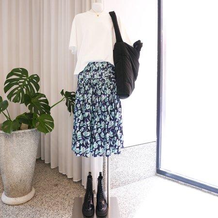 Merlette Celestun Skirt - Blue Floral