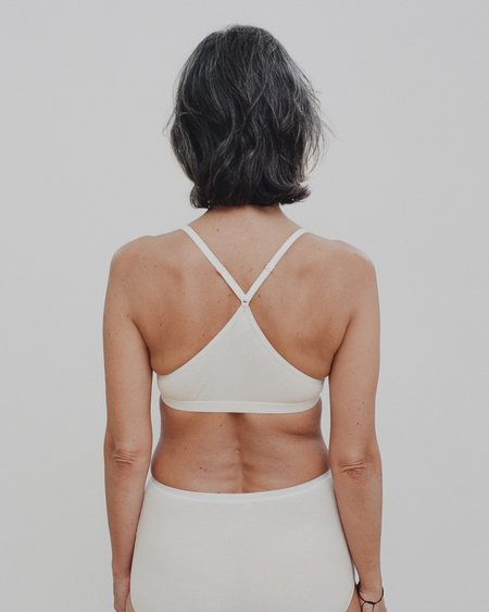 Baserange X Bra - Off White