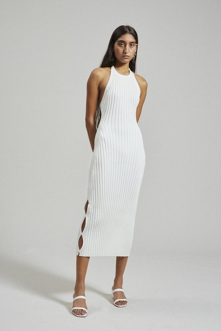 Rachel Comey Salo Dress - White Rib