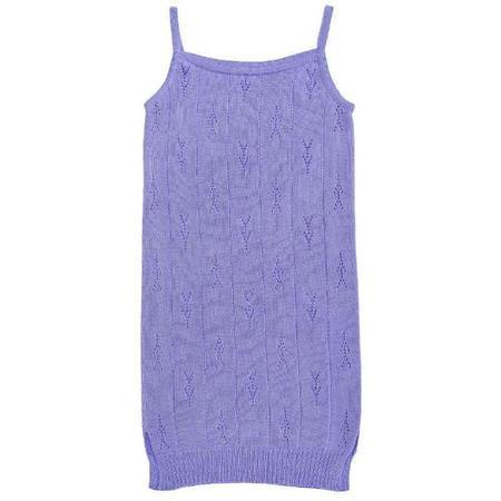 Kids Paade Mode Seamless Knit Dress - Violet