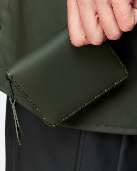 Unisex Rains Cartera Small Wallet - Green