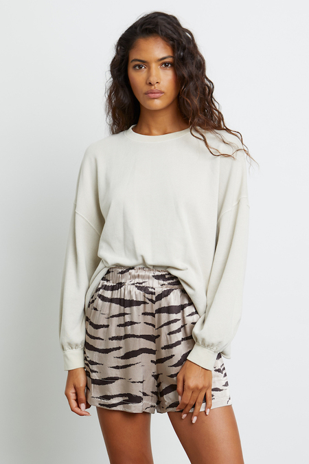 Rails Leighton Tiger Short - Beige Watercolor