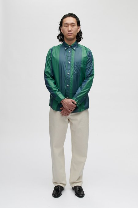 A Kind of Guise Seaton button down shirt - bold jade stripe