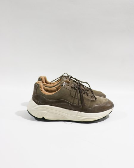 pre-loved Buttero Vinci Running Sneakers - taupe