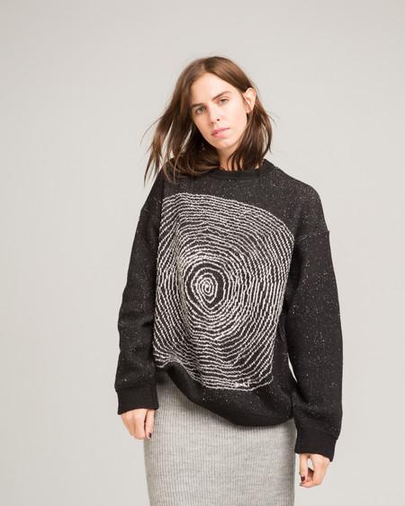 giu giu Spiral sweater