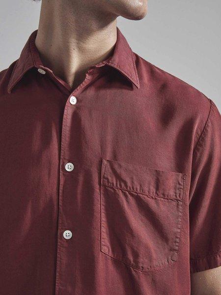 NN07 Errico Shirt - Burnt Red