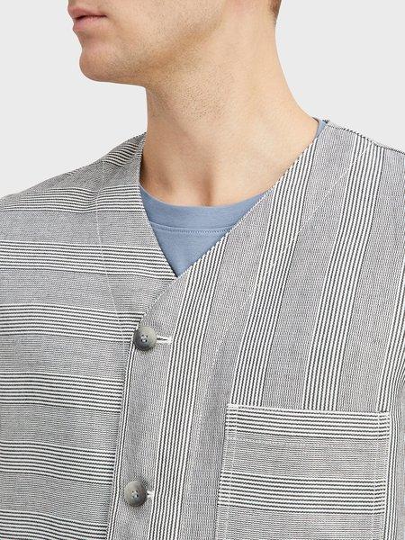 O.N.S Fiske Stripe Jacket - Black/White