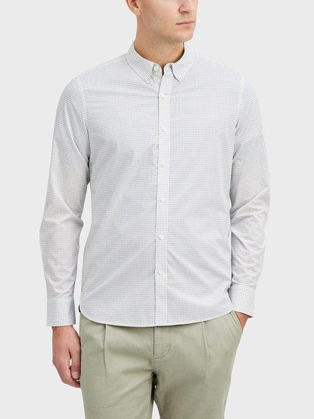 O.N.S Fulton Microcheck Shirt - Black/White