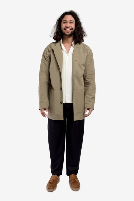 A Kind of Guise Atelier Coat - Washed Olive