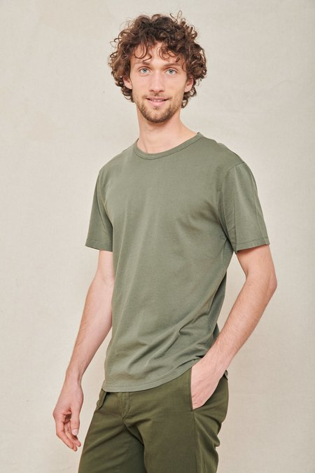 Officine Generale Ice Touch Tee - FOREST NIGHT