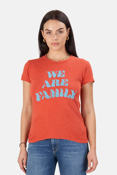Mother Denim The Sinful T-Shirt - We Are Family
