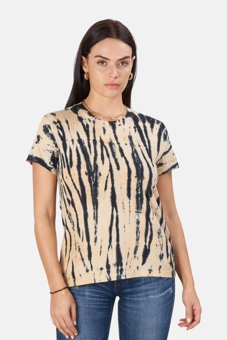Re/Done 70s Loose T-Shirt - Tiger Dye