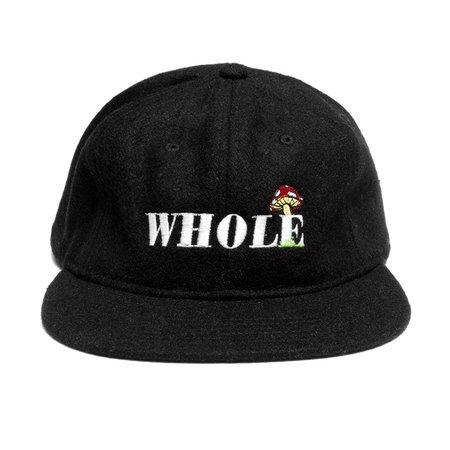 WHOLE Shrooms cap - black