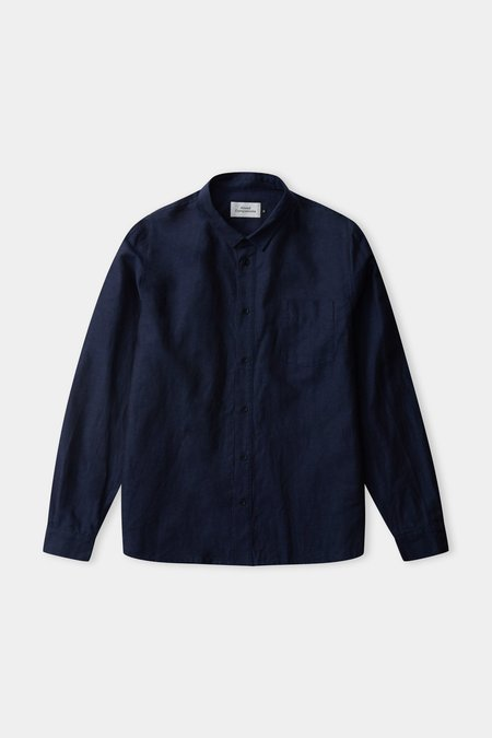 Frisur Simon Linen Shirt - Navy