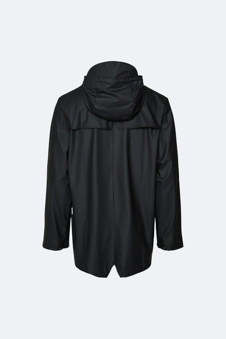 Unisex Rains Impermeabile Antipioggia - Black