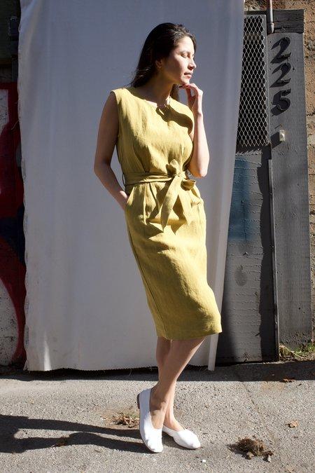 Eve Gravel Paloma Dress - Olive