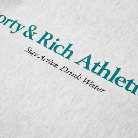 Sporty & Rich Athletic Club Sweatpants - Heather Grey