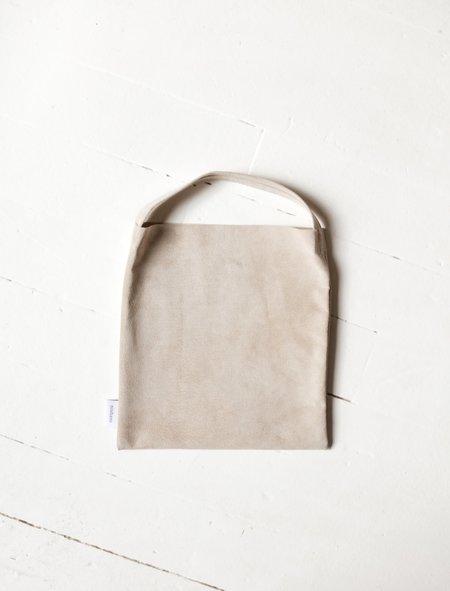 Niuhans Pigskin Suede Square Mini Bag