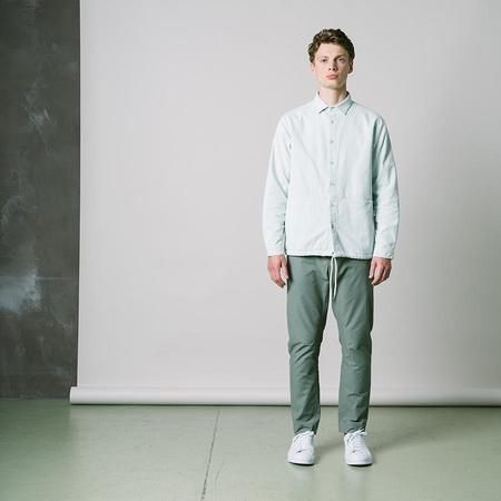 Kestin Armadale Shirt Jacket - Mint Corduroy