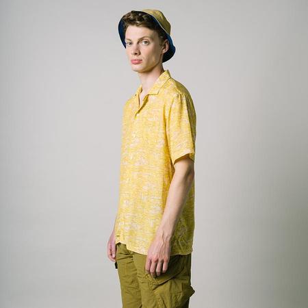 Kestin Crammond Vacation Shirt - Pollen Yellow/Plaster