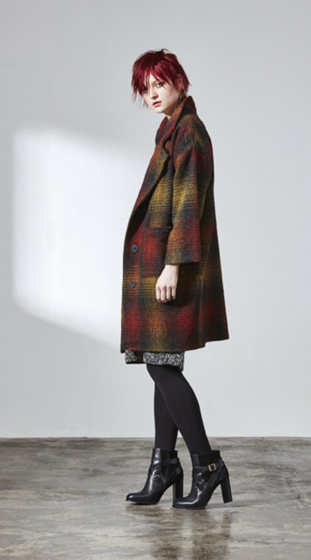 H. Fredriksson W 15 Kate Coat Plaid