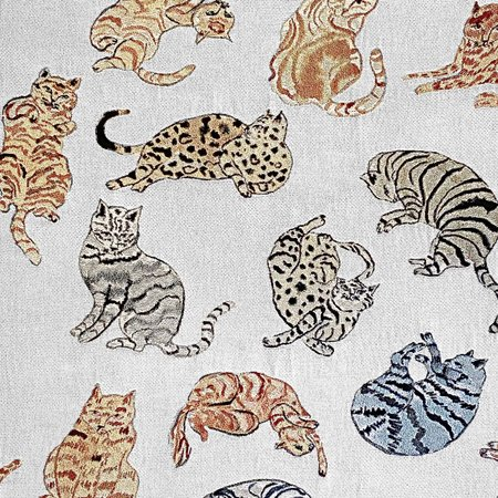 Olivia Wendel Chill Cats Blanket - Multi