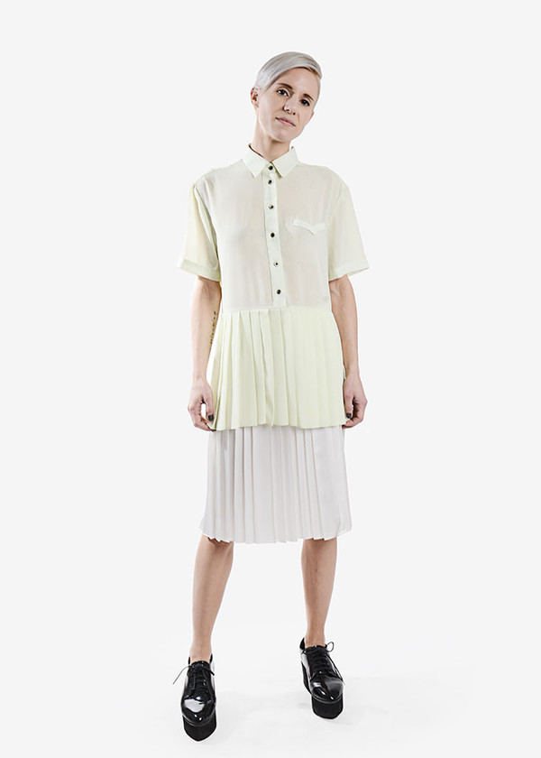 Dolores Haze Simone Pleated Tunic