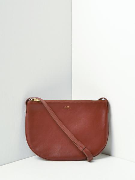 A.P.C. Maelys bag - CAD NOISETTE