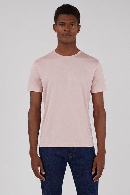 Sunspel Classic crew neck t-shirt - dusty pink