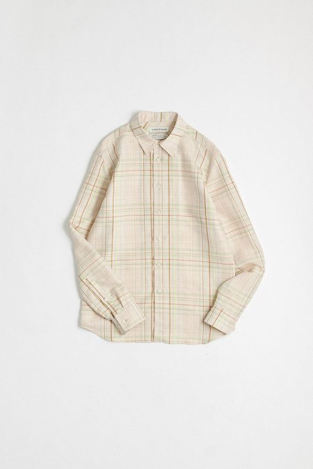 A Kind of Guise Flores shirt - aloe check