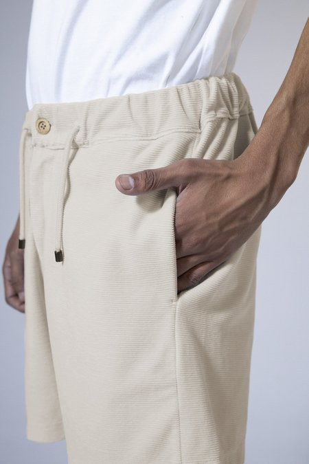 unfeigned bermuda sweat shorts - velour navy