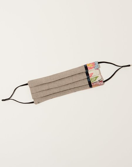 Sweet Seed Textiles Kimono Silk  XV Face Mask - multi