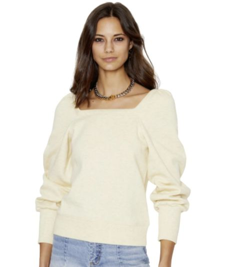 Rebecca Minkoff Ariel Sweatshirt - Lemon