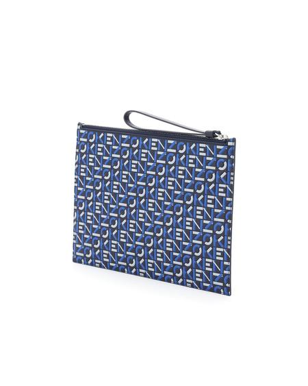 Kenzo Logo Large Pouch bag - Blue