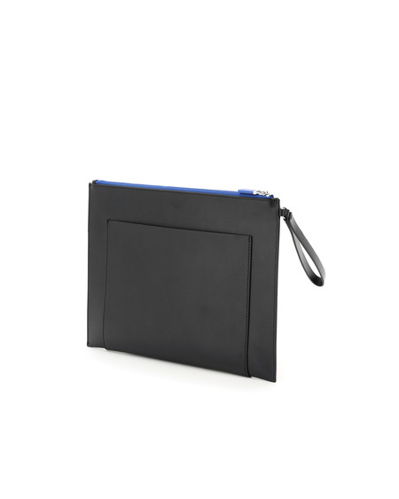Kenzo Large Leather Pouch bag - black