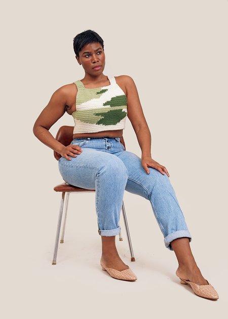 Saba McCoy Terrain #18 Vest - green/white