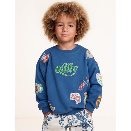 kids oilily polder shorts - sietse oatmeal
