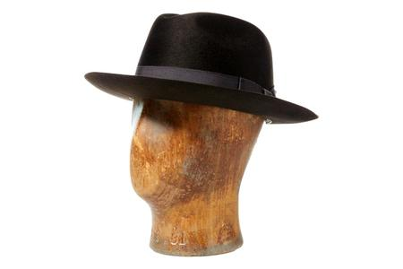 RRL Wool Felt Fedora - Vintage Brown