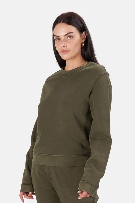 RtA Emilia Sweater - Faded Tanker