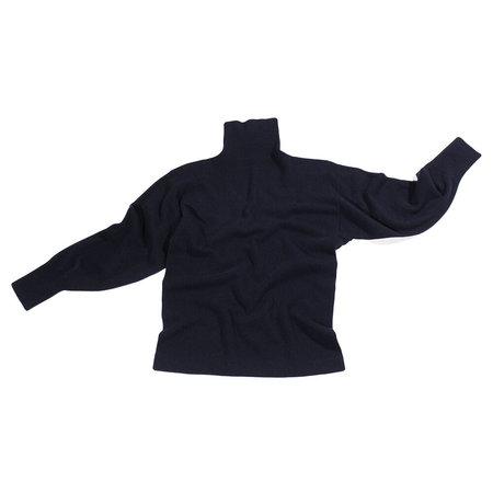 Nicholson & Nicholson Cecil T-Neck Sweater - Navy