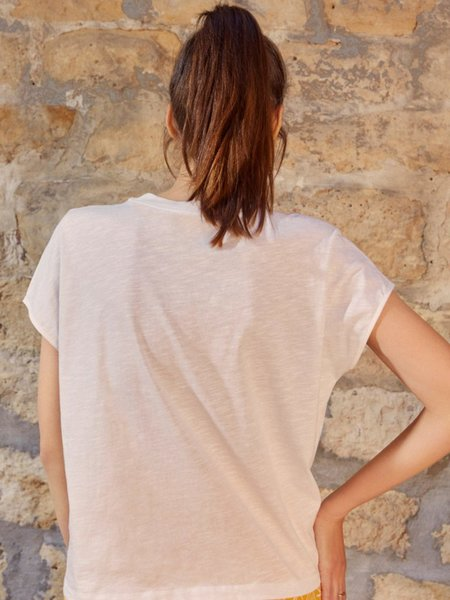 Des Petits Hauts Jizi Sun T-Shirt - Ecru