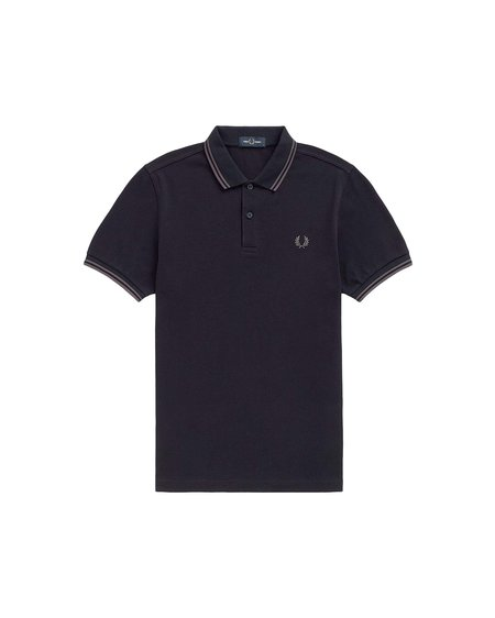 Fred Perry M3600 Short Sleeve Polo - navy/gunmetal