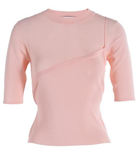 I Am Chen Short Sleeved Top - Pink