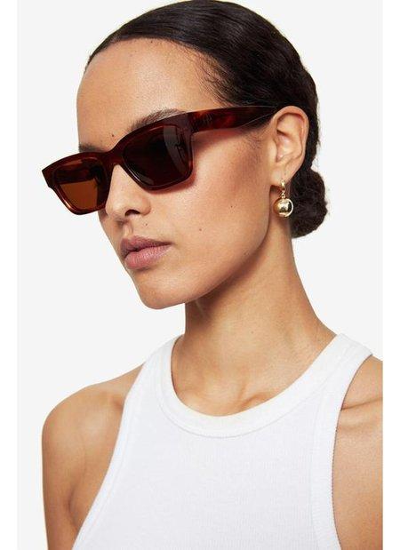 Anine Bing Daria Sunglasses - Tortoise