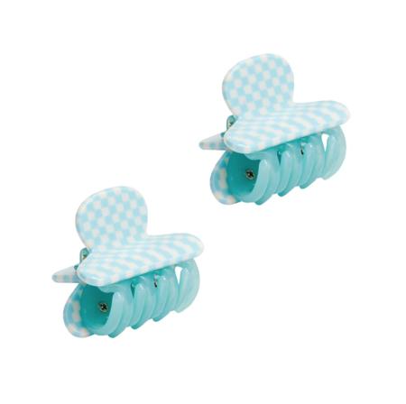 Machete Twin Heirloom Claws - Blue Checker