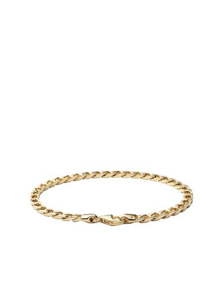 Miansai 4MM CUBAN GOLD BRACELET - GOLD